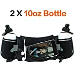 Hydration Running Belt with Water Bottle, Fanny Pack with Adjustable Straps, Running Belt for Phone, Water Belts for Woman and Men, Waist Pack for Running Hiking Cycling Climbing
