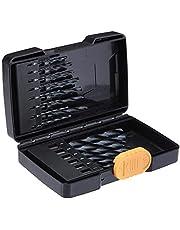 AmazonBasics High Speed Steel Drill Bit Set - 21-Piece