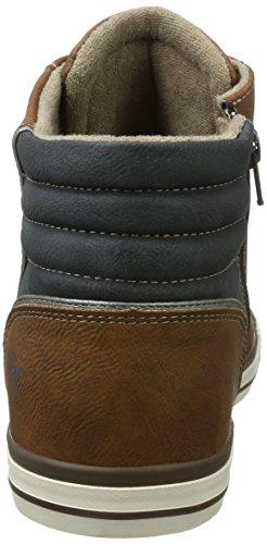 Mustang 4096-501-301, Zapatillas Altas para Hombre Marrón (Kastanie)
