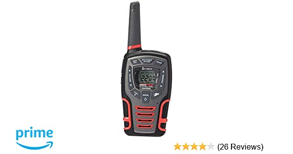 Amazon.com: Cobra CXT531 Kids Walkie Talkie 2-Way Radios, Black & Red, Rechargeable with Dock: Cell Phones & Accessories