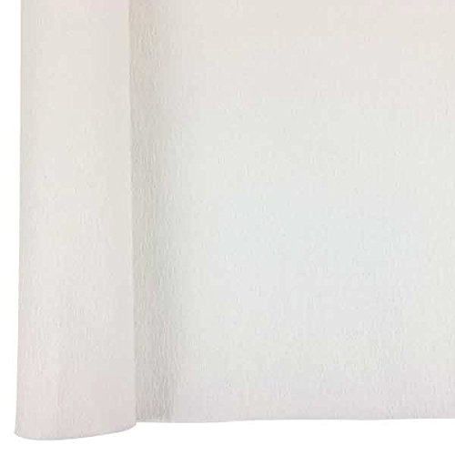 - Just Artifacts Premium Crepe Paper Roll - 8ft Length/20in Width (Color: White)