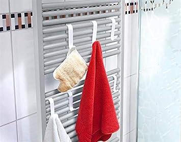 Gancho de radiador blanco 6 Set: Amazon.es: Salud y cuidado ...