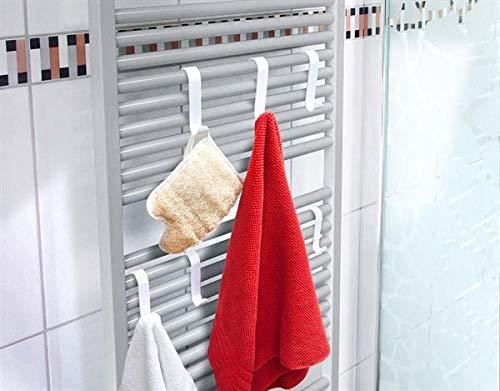 Gancho de radiador blanco 6 Set KADAS GmbH