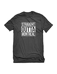 Indica Plateau Mens Straight Outta Montreal T-Shirt