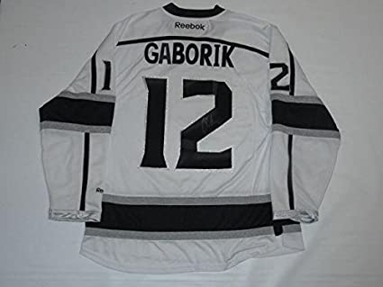 Image Unavailable. Image not available for. Color  Signed Marian Gaborik  Jersey - Reebok 2014 Stanley Cup Coa - JSA Certified - Autographed NHL c1ea6bb1e
