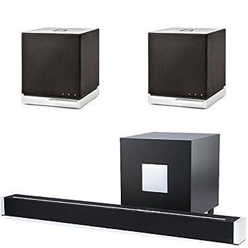 definitive technology sound bar. definitive technology (1) w studio sound bar with wireless subwoofer \u0026 (2)