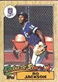 1987 Topps Bo Jackson Rookie Baseball Card #170 - Shipped In Protective Display Case!