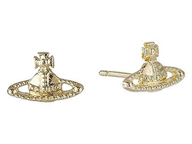 97df45a120008 Vivienne Westwood Women's Farah Earrings Gold One Size: Amazon.co.uk ...