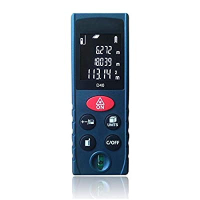 Handheld Digital Distance Meter Measure Distance height Volume accurately Measuring Distance Device with LCD Backlight Red, Tape Measure…