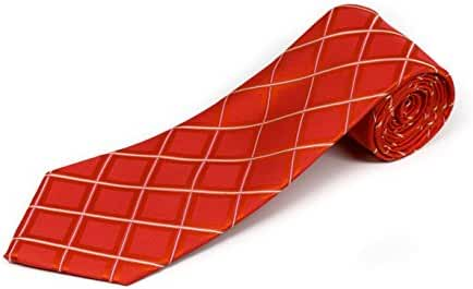 100% Silk Geometric Shape Tie (available in 63