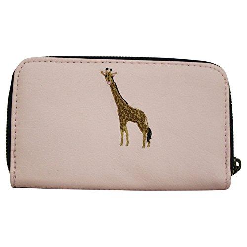 Portafogli da Donna Pochette Clutch Stile Vintage Giraffa