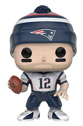 Funko POP NFL: Wave 3 - Tom Brady Action (Football Bobble Head)