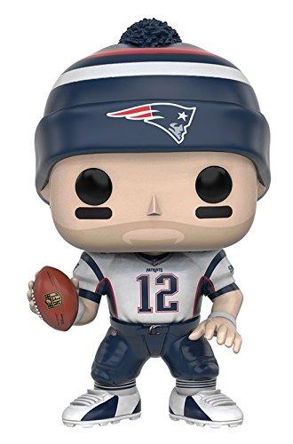 Funko POP NFL: Wave 3 - Tom Brady Action Figure (Brady Head Bobble Tom)
