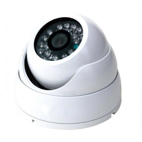 Amview 1300TVL 3.6mm Lens Aluminum Vandalproof CCTV Surveillance Security Camera by Amview