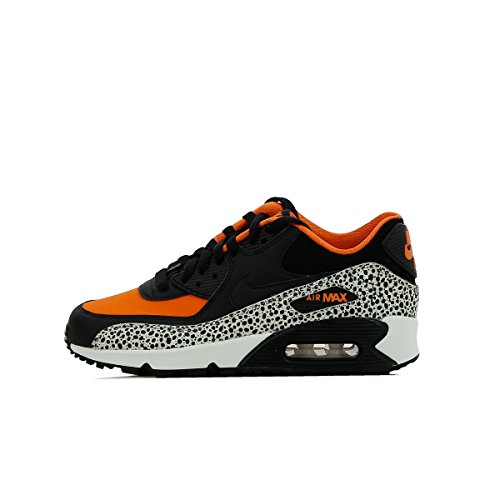 Nike Boys' Air Max 90 Safari (Gs) running Shoes multicolored Size: 4 UK