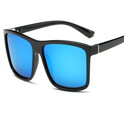 I-amp Lens - Color mood men's square sunglasses Outdoor driving polarized sunglasses