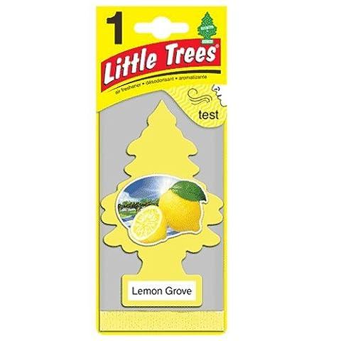 Little Trees Air Fresheners, Singles, Lemon Grove (Pack of 12) - Little Trees Car