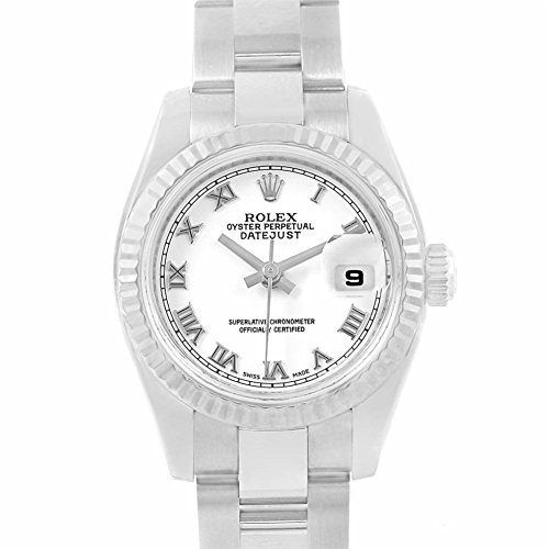 Rolex Datejust automatic-self-wind womens Watch 179174 (Certified Pre-owned) (Rolex Watches Gold White)
