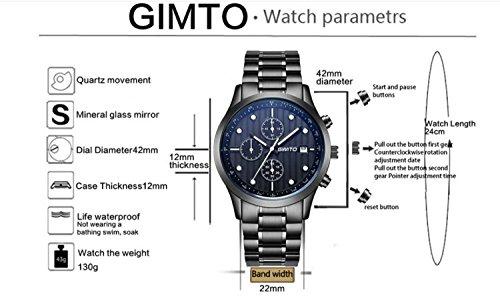 Armbanduhr Quarz Billig Geschäfts Analoge Mens Luminous Art 4j3AR5Lq