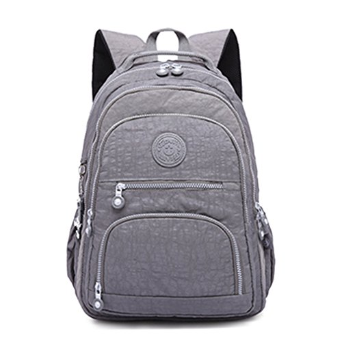 Backpack Travel Bagpacks Women Bags Laptop For Casual Girls Female Teenage Backpack Gray School qtFcwTSU