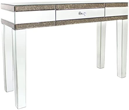 Amazon Com Savoy Antique Mirror Console Table By Avalon Lane Furniture Decor