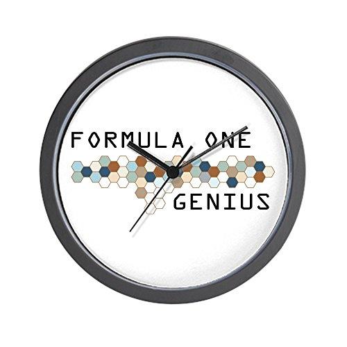 """CafePress - Formula One Genius Wall Clock - Unique Decorative 10"""" Wall Clock"""