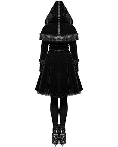 Para Mujer Rave Larga Manga Abrigo Punk 7q81I