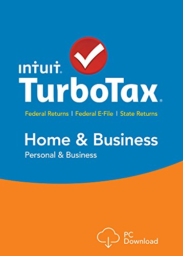 TurboTax Home & Business 2015 Federal + State Taxes + Fed Efile Tax Preparation Software - PC Download [Old Version]