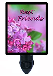 Best Friends Night Light - Flower / Floral Design