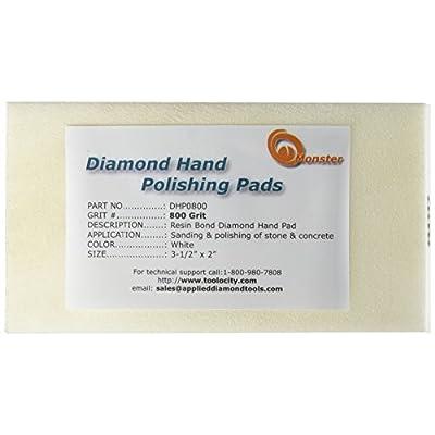 Monster DHP0800 Monster Diamond Hand Polishing Pads for Stone: Home Improvement