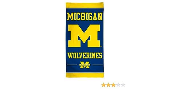 NCAA Michigan Wolverines 30 x 60Beach Towel