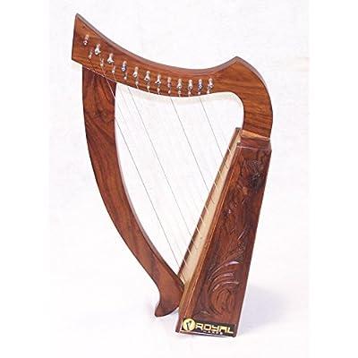 12-string-harp-celtic-design-24-tall