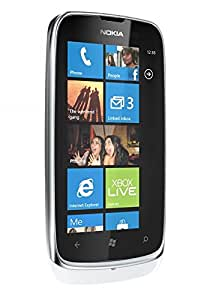Nokia Lumia 610WH Unlocked World Windows Mobile Phone with 5MP Camera, 3G, Touchscreen, 8GB Memory and Wi-Fi - No Warranty - White
