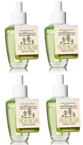 Bath and Body Works Fresh Balsam Wallflowers Fragrance Refill. 0.8 -