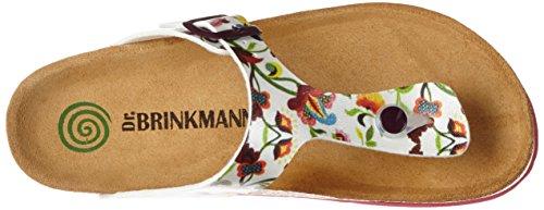 Dr. Brinkmann Damen 700973 Zehentrenner Weiß (Weiß)
