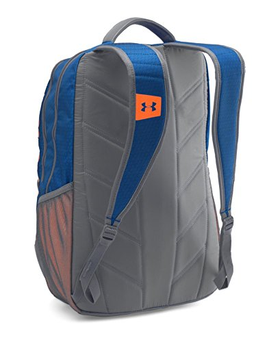 Under Armour Storm Hustle II Backpack, Royal (402)/Blaze Orange, One Size