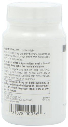 Source Naturals Bilberry Extract 100mg, Standardized Botanical Antioxidant, 120 Tablets by Source Naturals (Image #6)