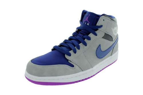 Nike Air Jordan 1 Mid Heren Basketbalschoenen 554724-008
