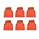 Energi8_blu 6 Adult Orange Jersey Practice Uniform Pinnie Pennie Lacrosse Field Hockey