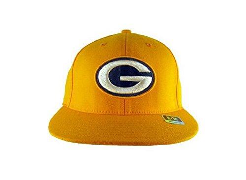 - Reebok Nfl Football Hat Green Bay Packers Flat Visor Flex Cap S/M