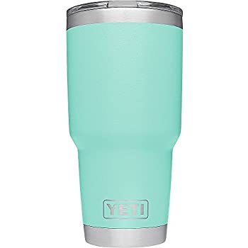YETI Rambler 30 oz. Stainless Steel Vacuum Insulated Tumbler with Lid, Seafoam