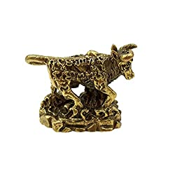 Powerful magic strong power war bull ox Thai mini brass amulet pendant for life protection gamble with amulet necklace & special gift