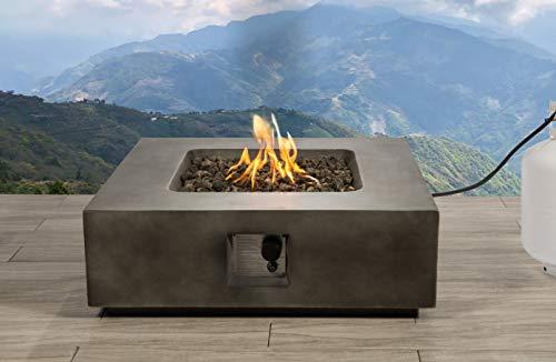Century Modern Outdoor Fire Pit for Outdoor Home Garden Backyard Fireplace...