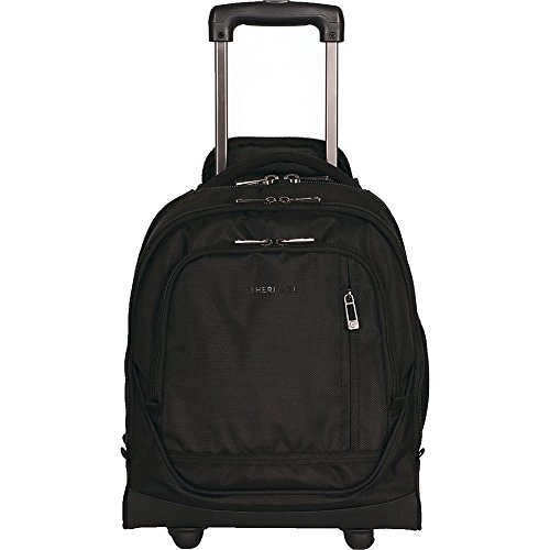 Heritage Dual Compartment 17'' Wheeled Laptop Underseater Carry-On (Black) by Heritage Products