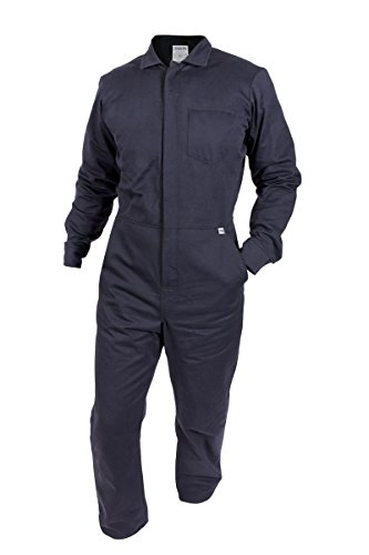 National Safety Apparel C88EJCZ2X32 ArcGuard FR UltraSoft Contractor Coverall, XX-Large, Navy by National Safety Apparel Inc
