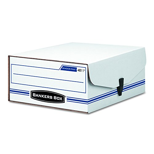 Fellowes Bankers Box Liberty 8 1/4 x 11 x 4 Inch Binder Pak (48110) (Bankers Box Liberty Binder)