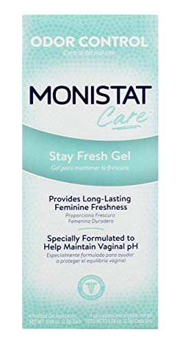 Monistat Care Stay Fresh Gel   4 Pre-filled Applicators, used for sale  Delivered anywhere in USA