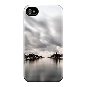 New WUfUBdB1045BoIqj Resting Boats Tpu Cover Case For Iphone 4/4s by icecream design