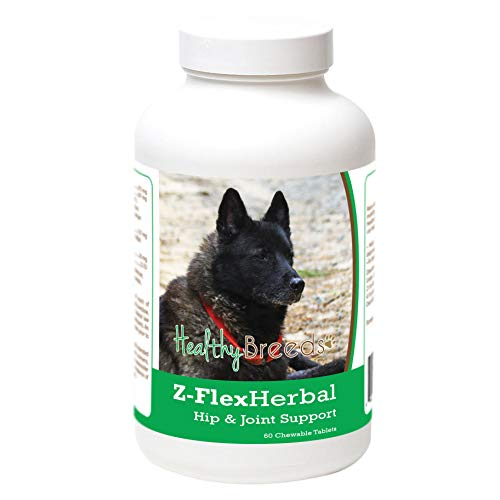 Healthy Breeds 60 Count Norwegian Elkhound Z-Flex Herbal Hip and Joint Support Chewables