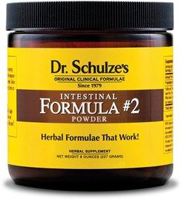 Dr. Schulze Intestinal Formula #2 DEEP Herbal Colon Bowel Cleanse Laxative 8oz Powder ~ NEW GLASS Jar!, Health Care Stuffs